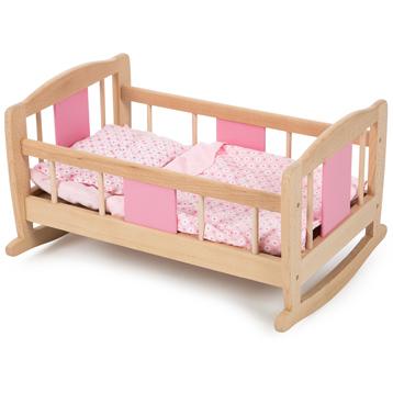 Wooden Rocking Cradle