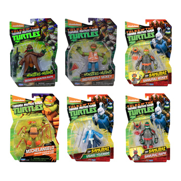 Turtles Action Figures (Wave 20)