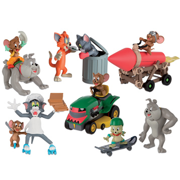 Tom & Jerry Action Figures