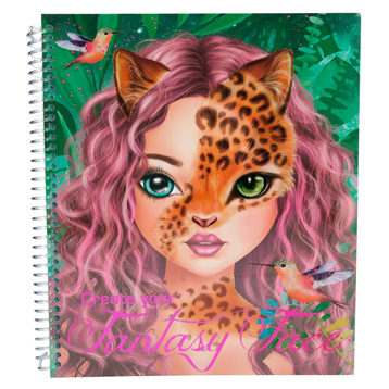 Create Your Fantasy Face Colouring Book