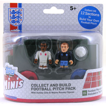 Topps FA Collect & Build Pitch- Cole, Rooney