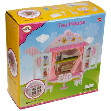 Toyland Wooden Teapot House Playset