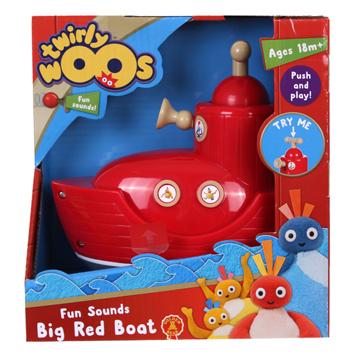 Fun Sounds Big Red Boat