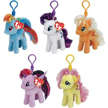 My Little Pony Keyclip Plush