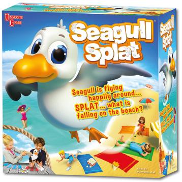 Seagull Splat Game