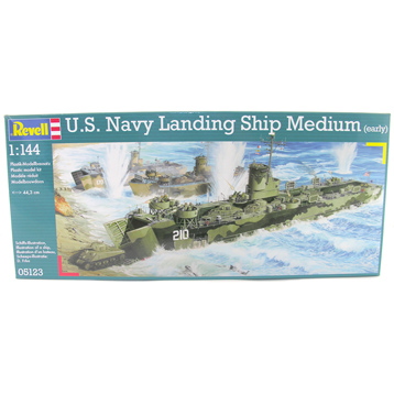 U.S. Navy Landing Ship Medium (early) (1:144 Scale)