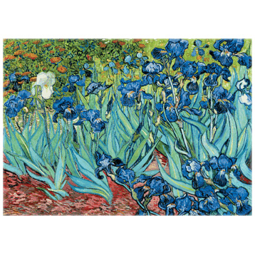 Van Gogh, Iris Classic 1000 Piece