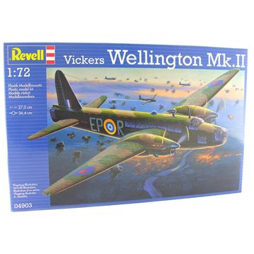 Vickers Wellington MK.II (Scale 1:72)