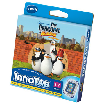 Innotab Penguins of Madagascar Software