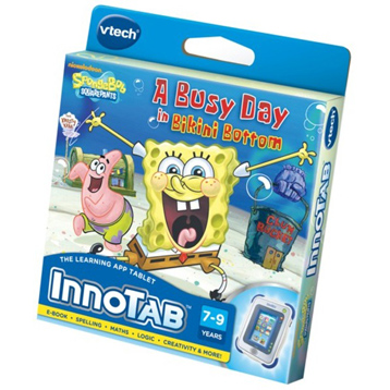 Innotab Spongebob Squarepants Software