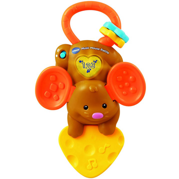 Music Mouse Rattle