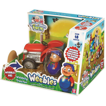 Weebles Wobbily Tractor