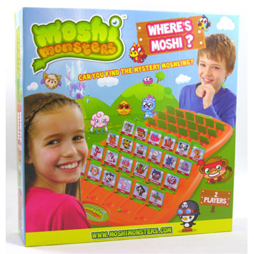 Where's Moshi Game