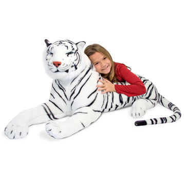 White Tiger Plush