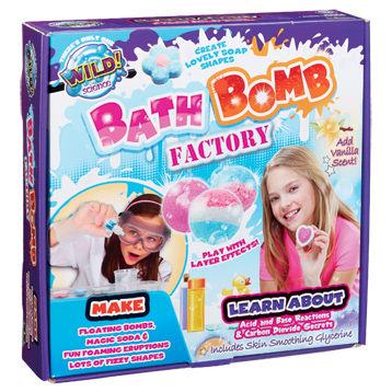 Wild! Science Bath Bomb Factory
