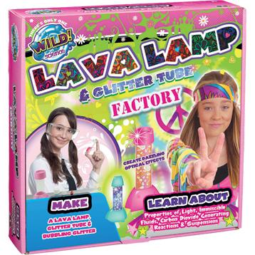 Lava Lamp & Glitter Tube Factory