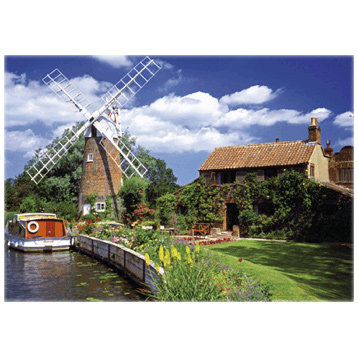 Windmill Country Classic 1000 Piece