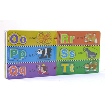 Wooden Magnetic Alphabet Puzzle Book