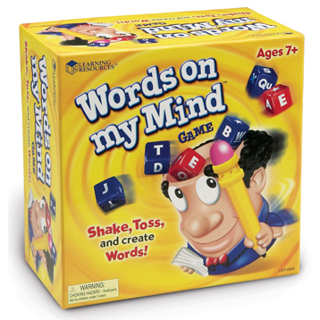 Words on My Mind Word Building Game