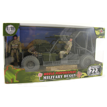 Military Buggy & Figures