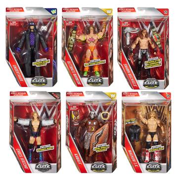WWE Elite Collection Lost Legends Figures