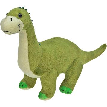 XJ Dinosaur Plush Brontosaurus in Green & Beige