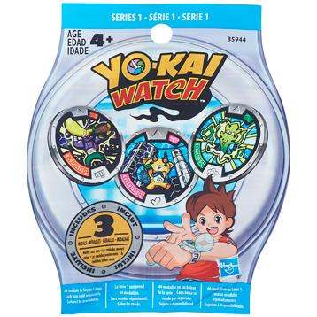Yo-Kai Watch Medal 3 Pack Mystery Bag (Series 1)